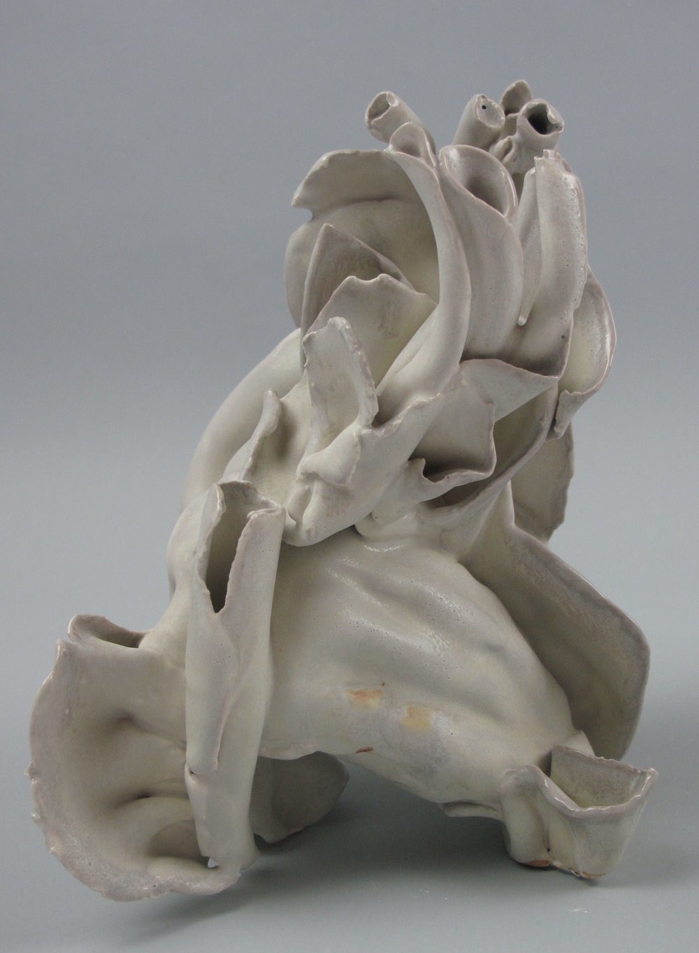 "Within , stoneware-soda fired, 6"" x 5"" x 4"""