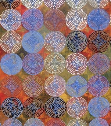 """Circles 4"" by Denise Driscoll"