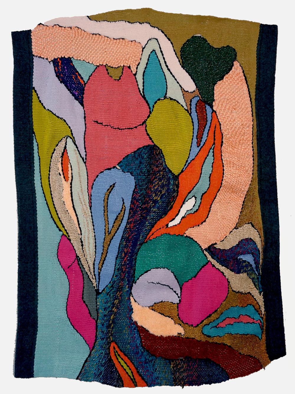"Botanical ,tapestry (yarn), 30.5"" x 41"""