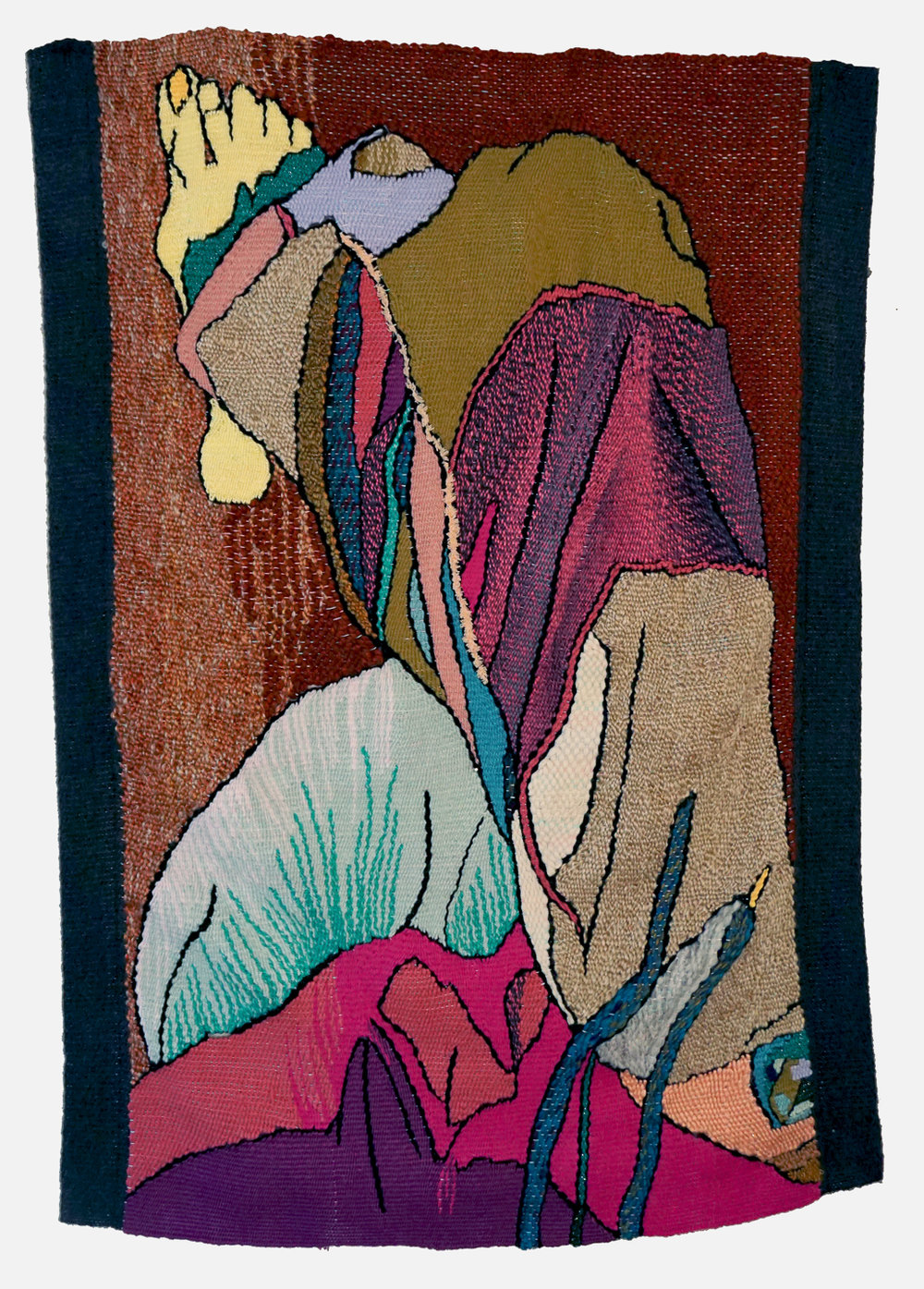 "Pants ,tapestry (yarn), 28"" x 40"""