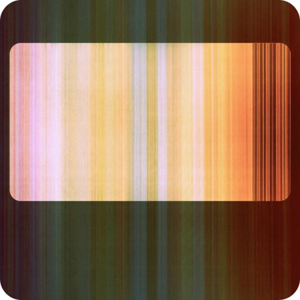 "Broken Television 30 , ink on drafting film w/digital inkjet, 5"" x 5"""