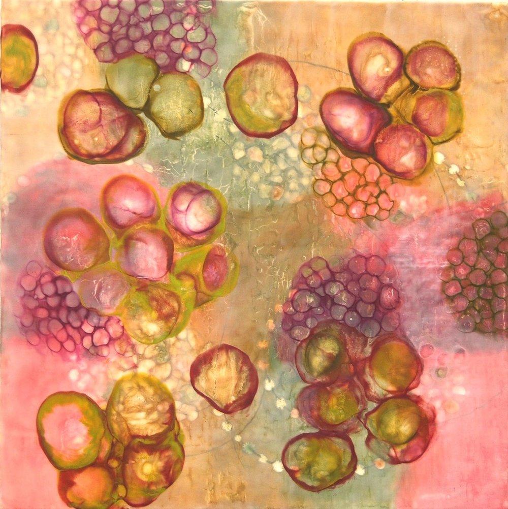 """BioFlow 5"" (detail) by Kay Hartung"