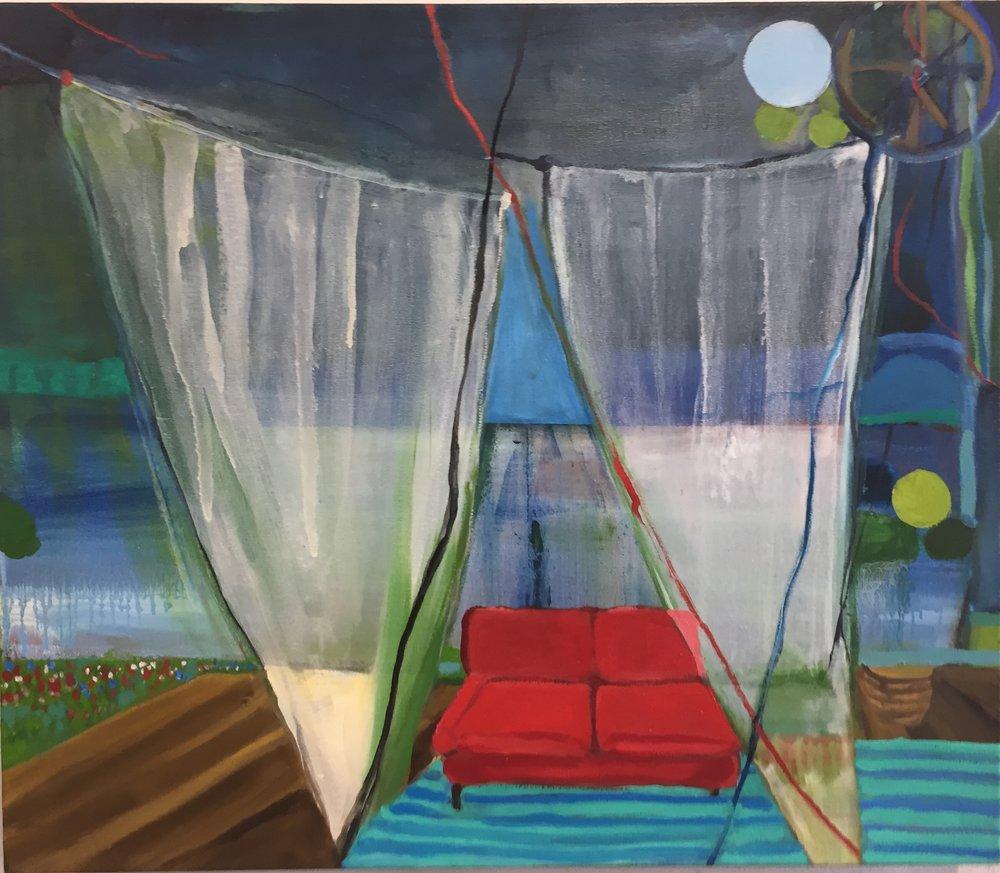 Alexandra Rozenman,  Friday Morning , Oil on canvas, 28x24