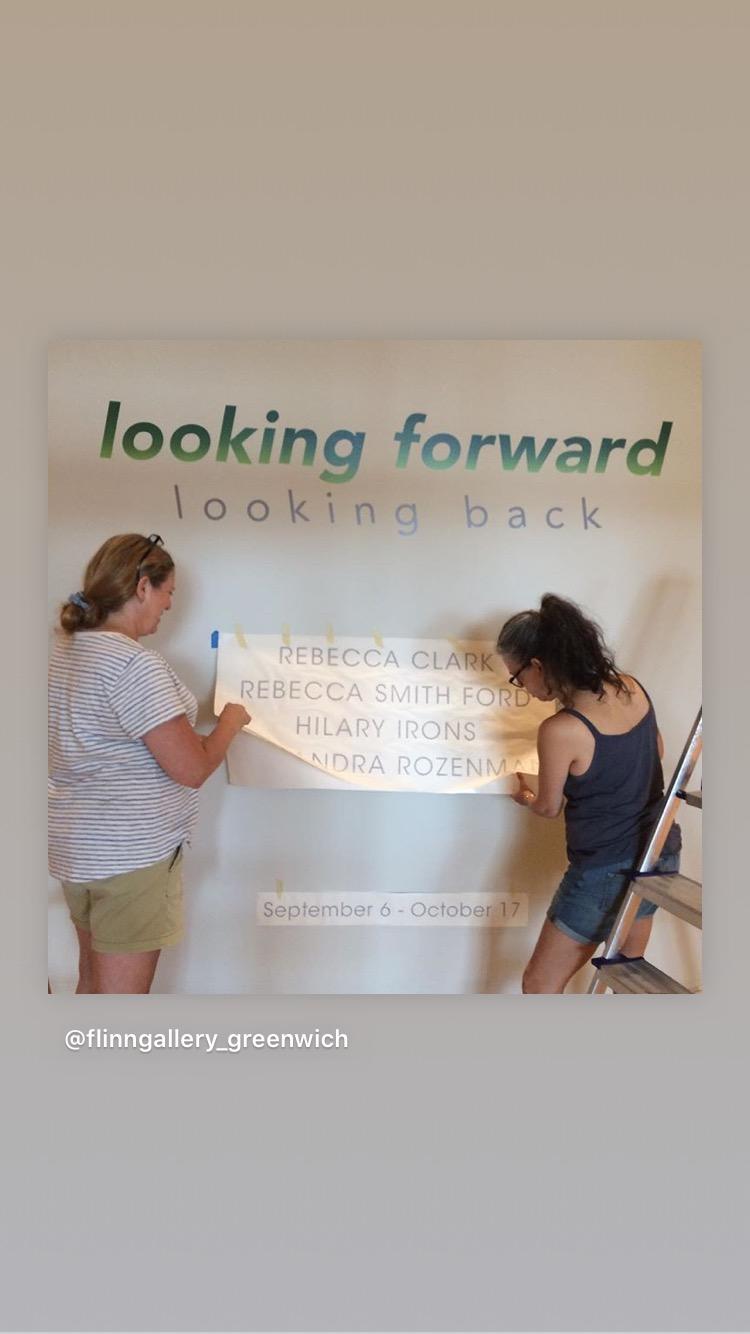 "Alexandra Rozenman is in ""Looking Forward,"" (installation view)"
