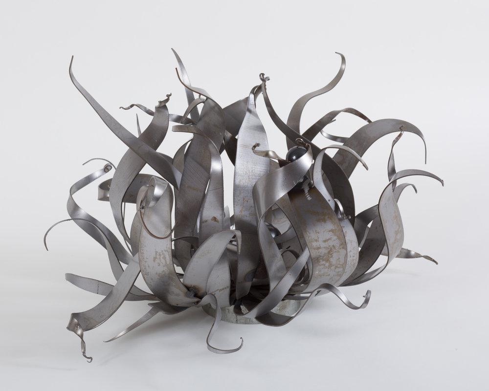 Sarah Alexander,  Relentless , steel, 22x11