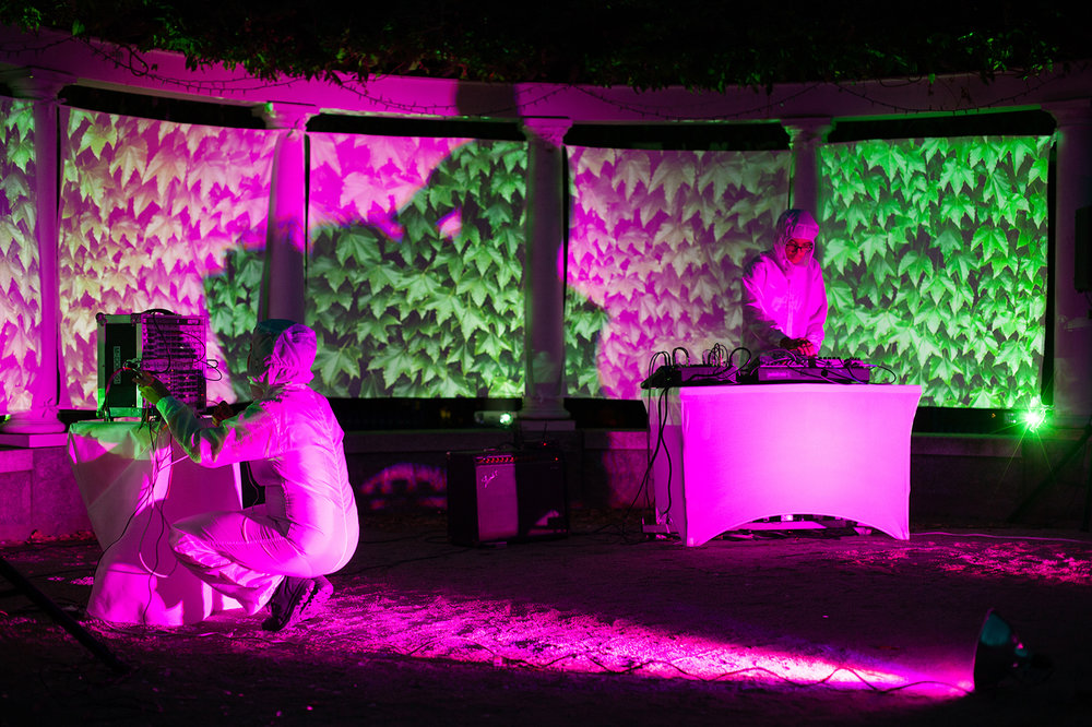 Human Garden: Mapping Worlds , video performance
