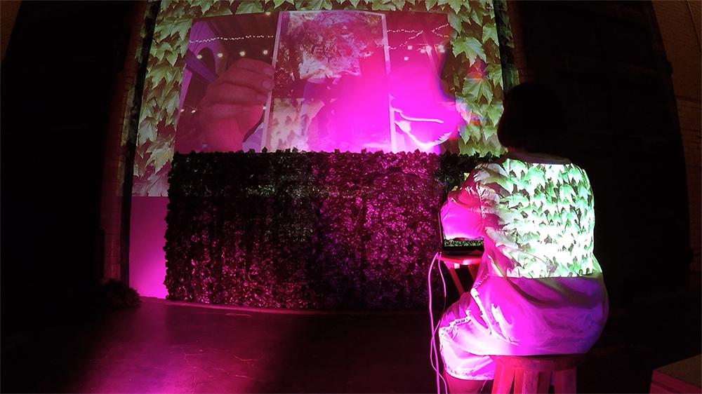 Human Garden (with Spaceus),  video performance