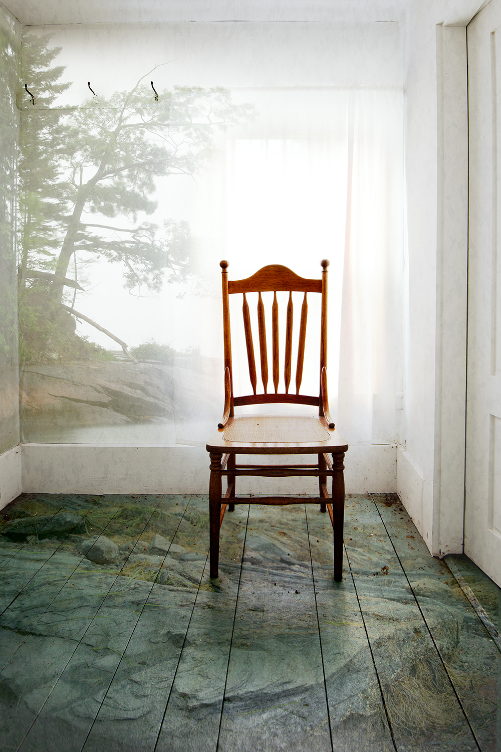 """Maine,"" part of a photographic triptych by Vicki McKenna"