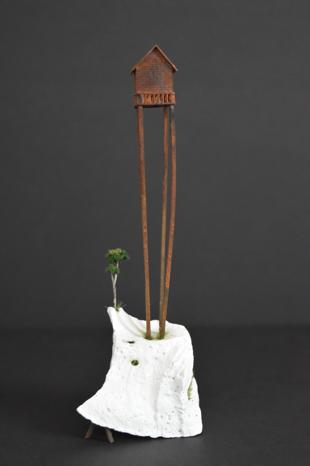 Investor   Special , resin, wood and mixed-media,