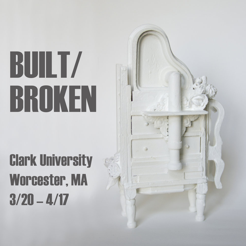 "Flight of Fancy , sculpture by Chelsea Revelle in ""Built/Broken"" exhibit"