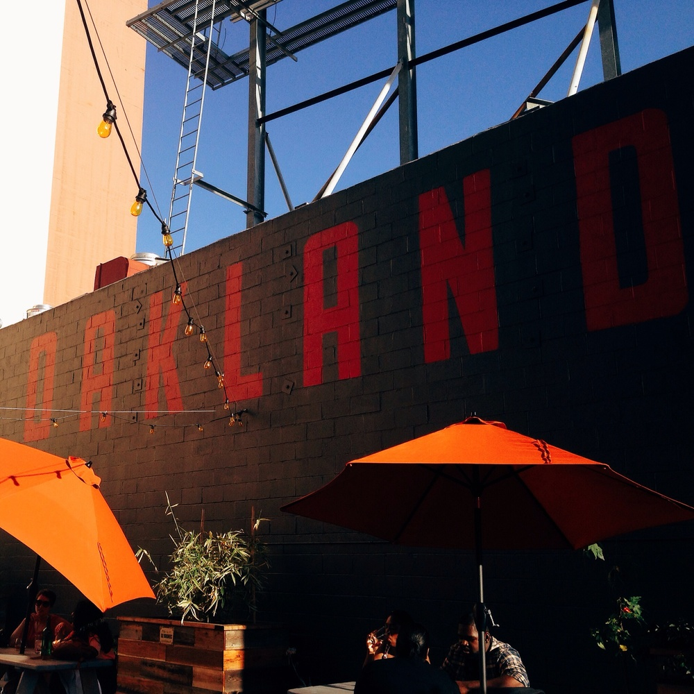 Lost and Found opened recently in Oakland, and one of things to attributes to its great potential is its beer garden.