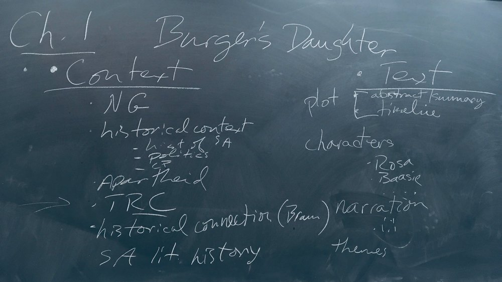 The mad scribbling of Prof. Skidmore.
