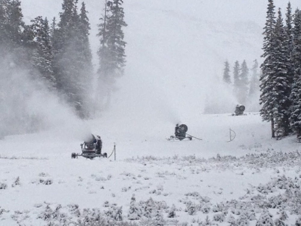 Photo taken 10/12/14 Courtesy of Arapahoe Basin and  Al's Blog