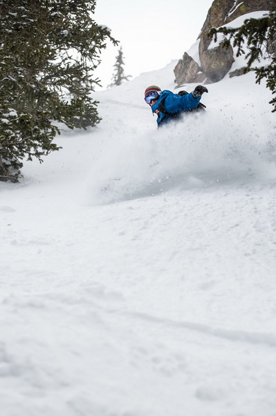 Pow day on May 12, 2014 P: Dave Camara courtesy of Arapahoe Basin