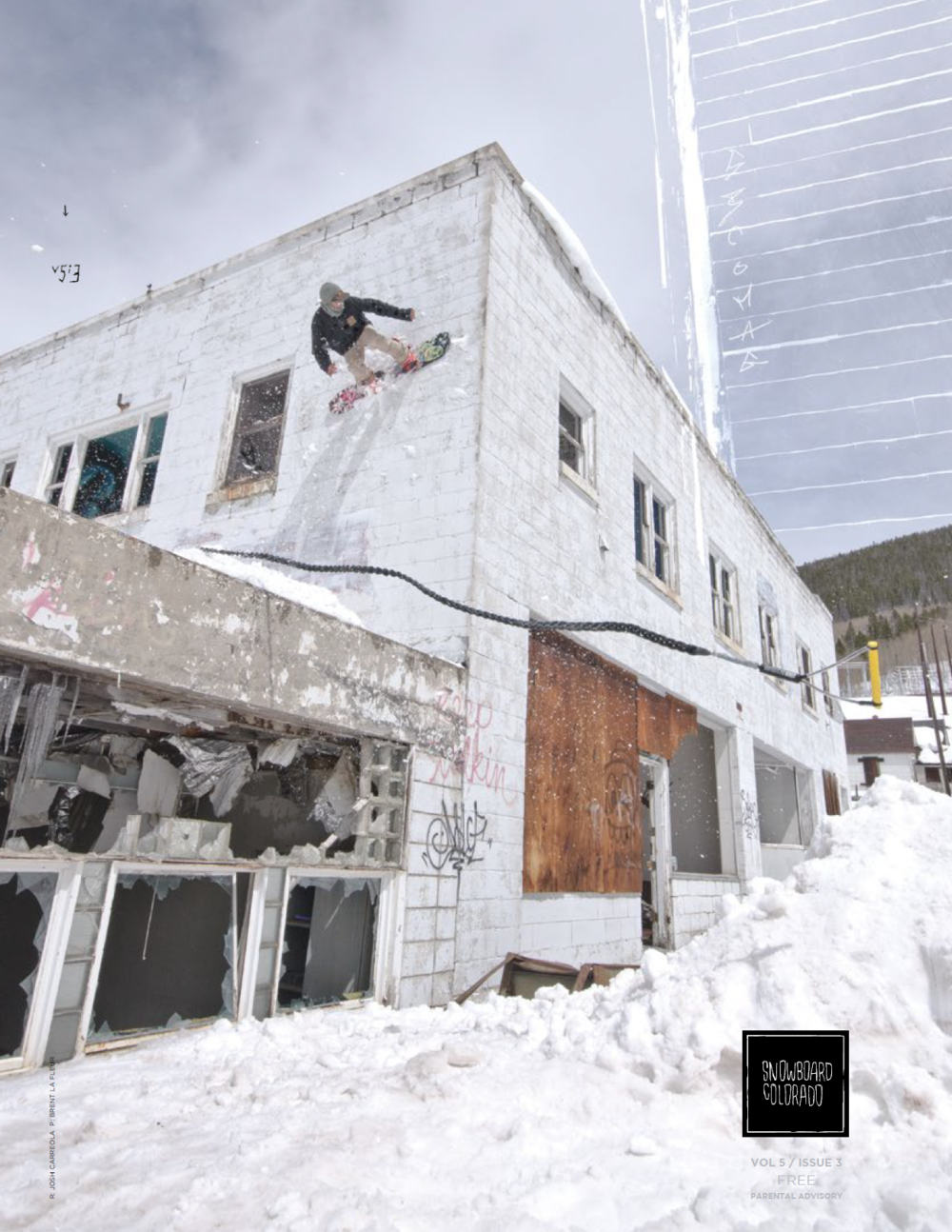 Snowboard Colorado Magazine November 2014