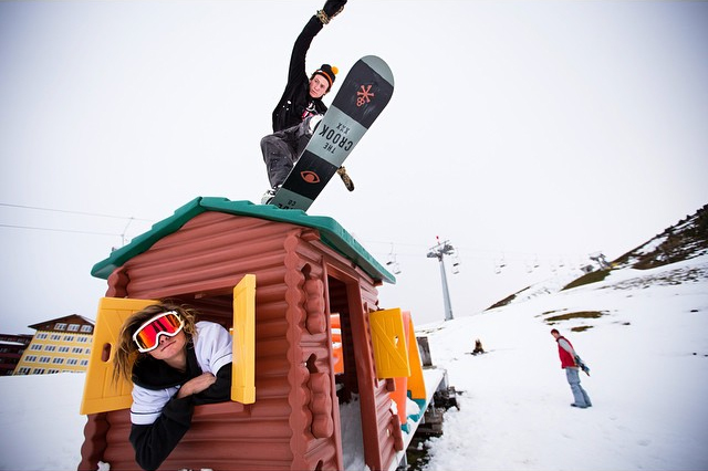 Spencer and Tommy Gesme in Austria P: Kyle Martin