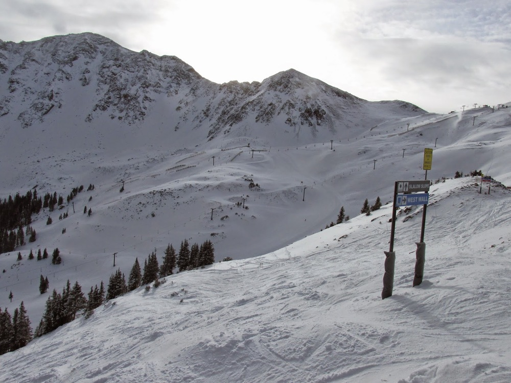 Arapahoe Basin today from Al's Blog