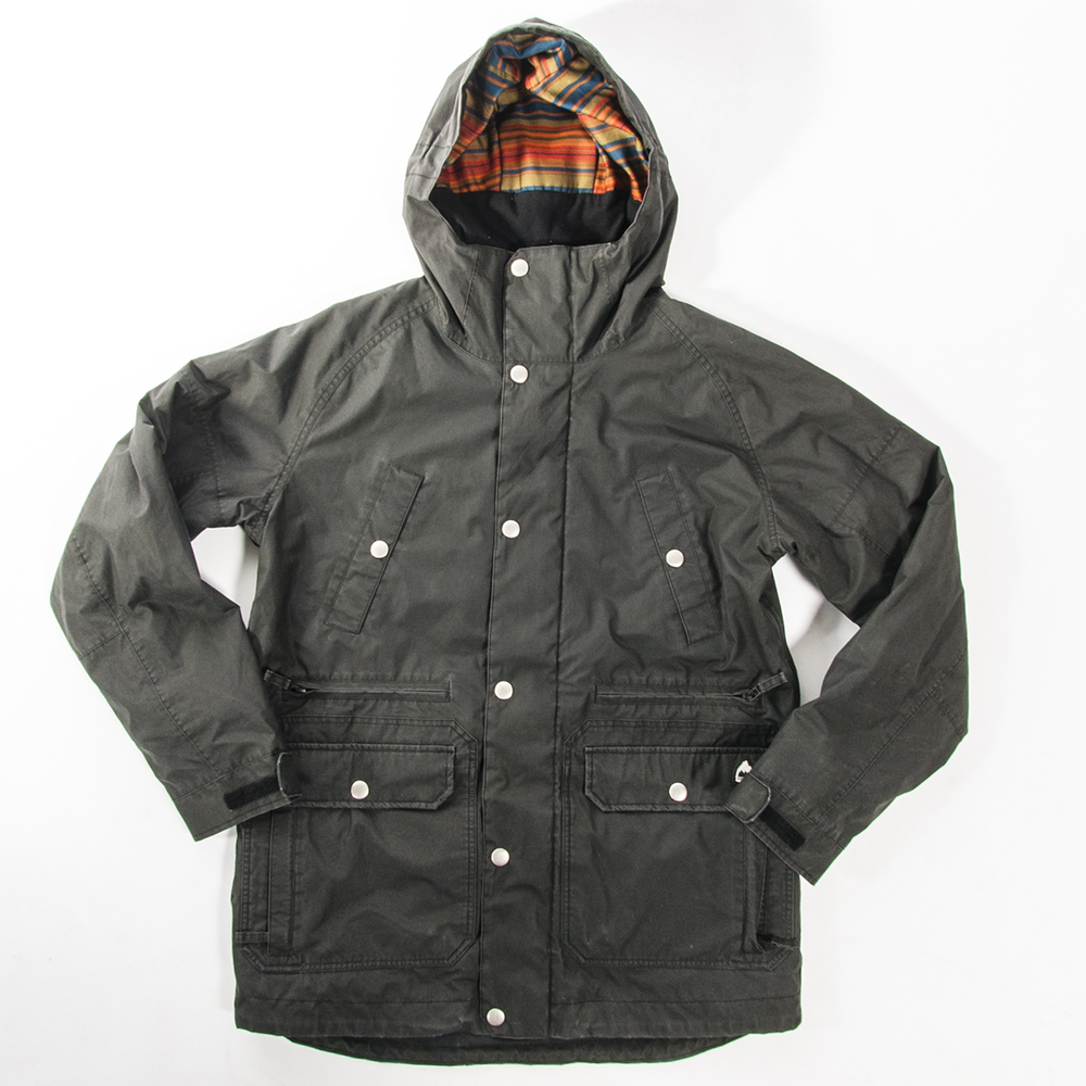 Burton Garment Washed Cambridge Jacket