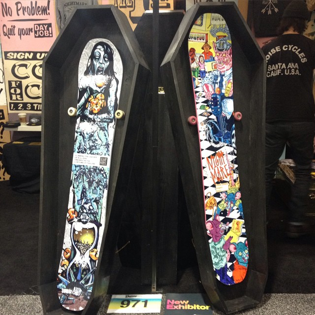 New Nightmare Boards as seen at SIA 2015 P: @dealswithdeath1413