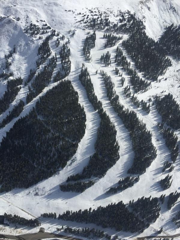 Loveland from above taken Oct. 25. Courtesy of Loveland Ski Area.