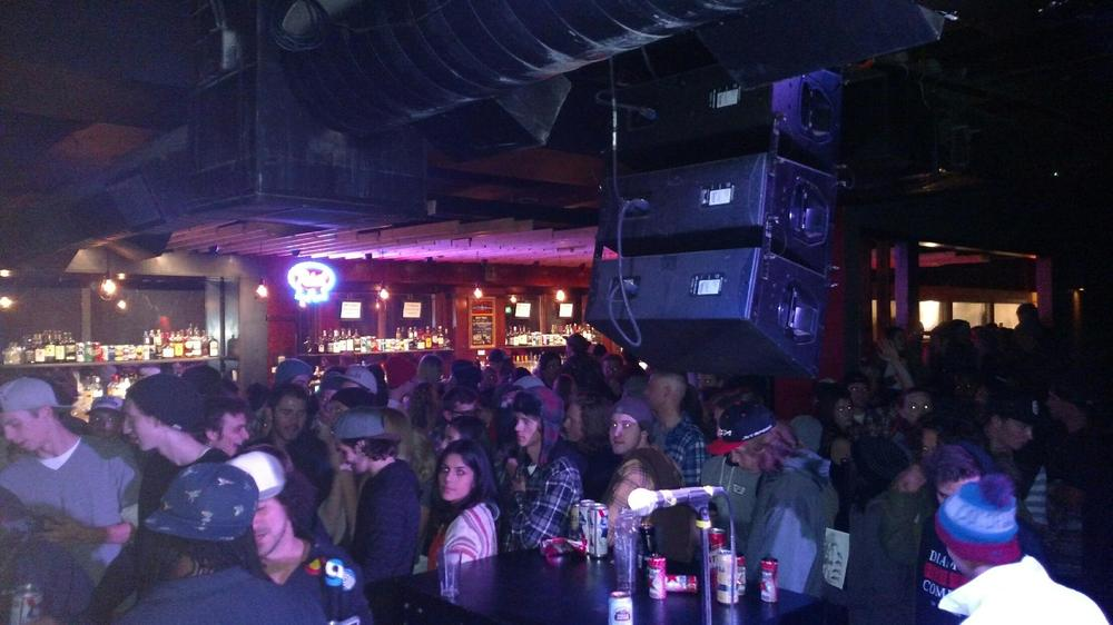 Did we mention it was packed?