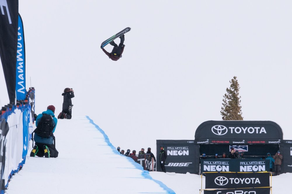 Ryan Wachendorfer places 2nd at the U.S. Grand Prix in Mammoth | P: U.S. Snowboarding
