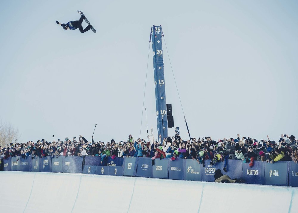 Shaun White launches 26 feet out of the U.S. Open Pipe  |  P: Blotto
