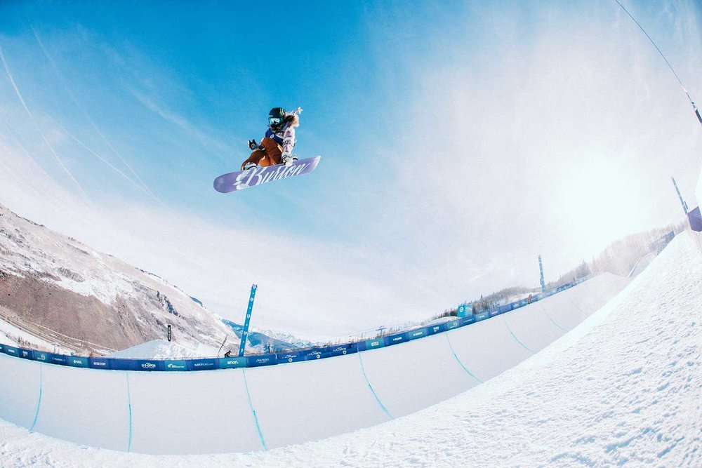 Chloe Kim looks to defend her 2016 win in the Halfpipe  |  P: Peter Cirilli