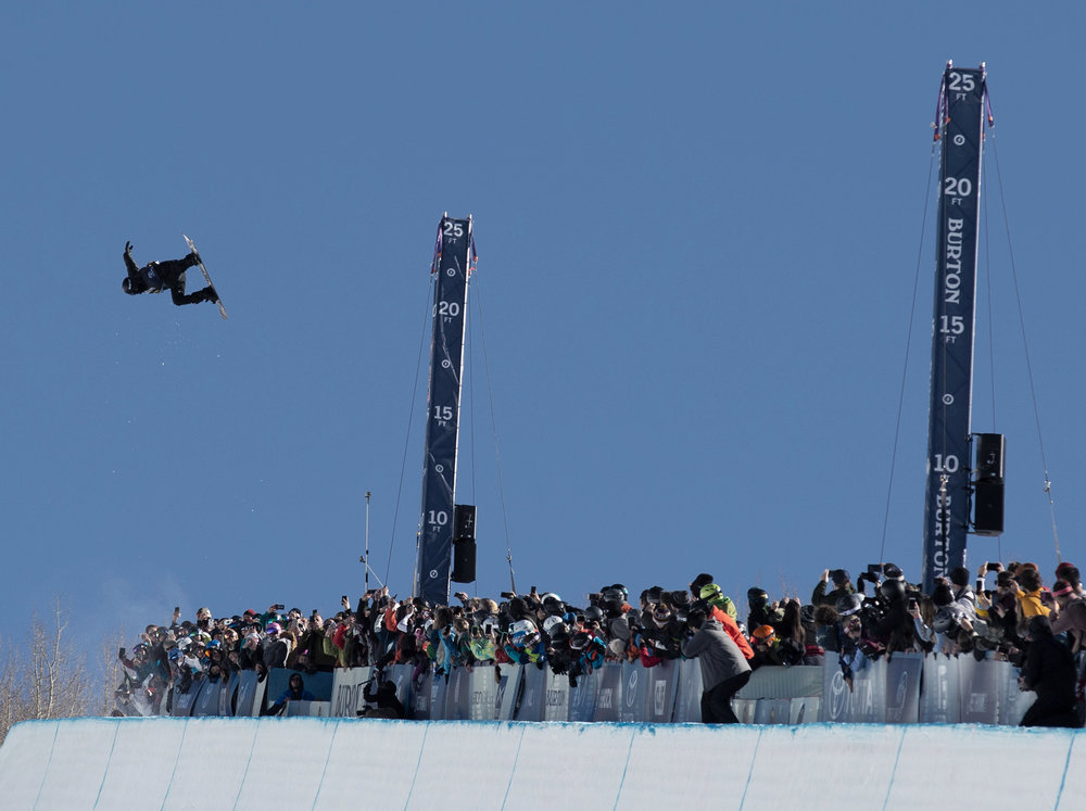 Shaun White back to his winning ways with a huge run in the Finals  |  P: Jesse Dawson
