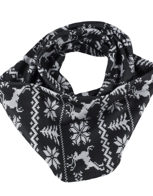 Infinity SCARF: Sweater Black