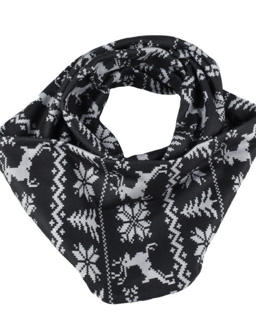 Infinity SCARF: Sweater Black