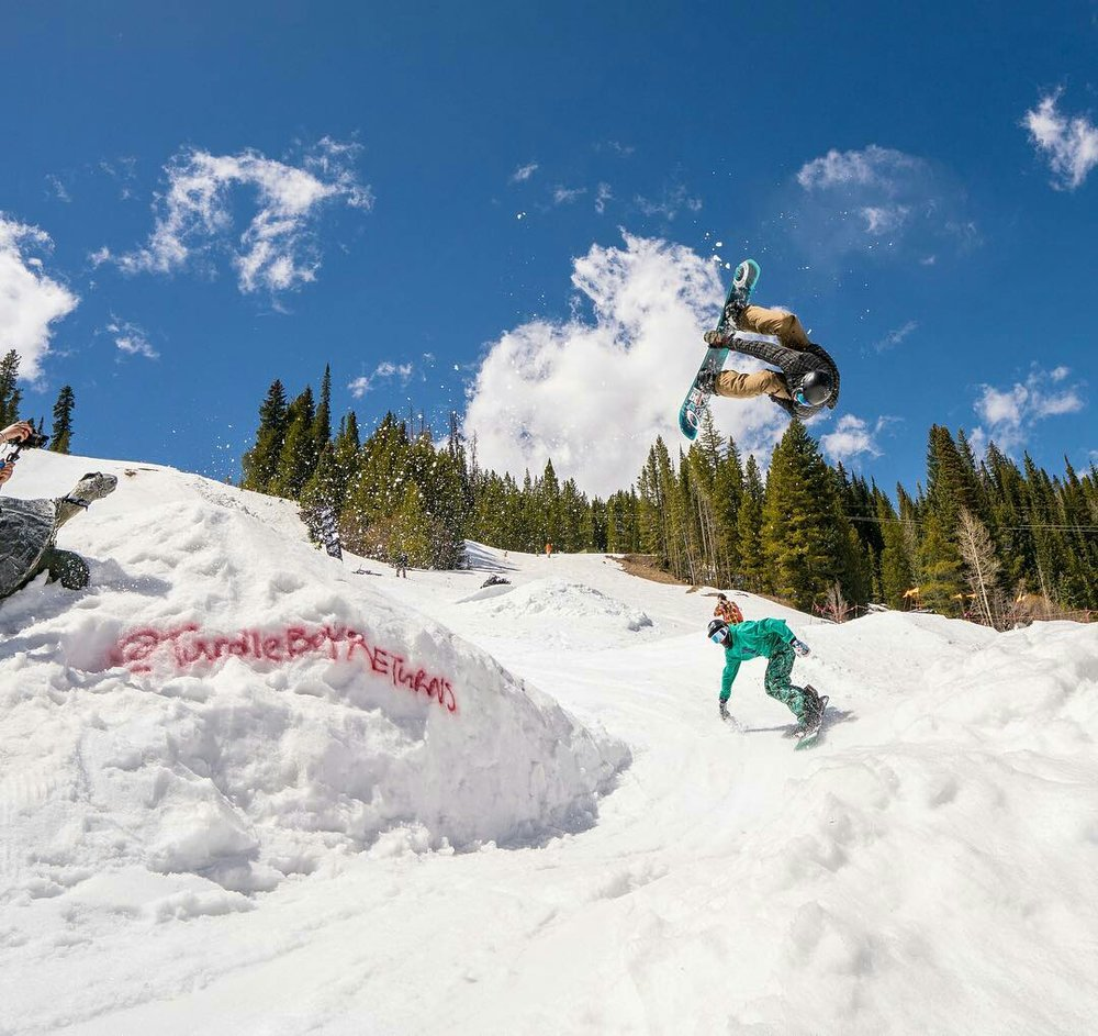 Jason Curry flipping over Corbin Clement  |  P: Carl Gotone