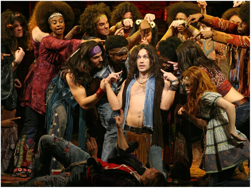 Will Swenson as Berger and Broadway Company