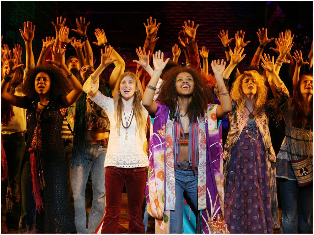 Broadway Company Caissie Levy, Sasha Allen and Kacie Sheik Let the Sun Shine In