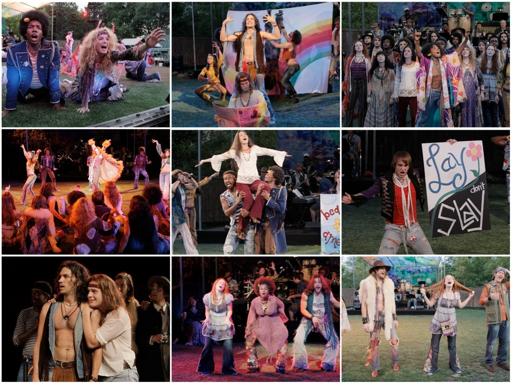 Summer of Love, HAIR at the Delecorte Theatre in Central Park