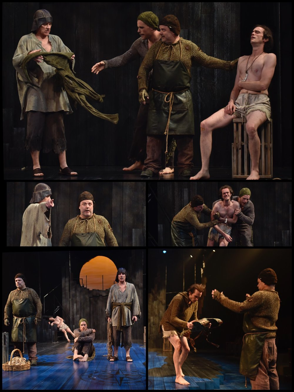 Pericles is saved by the Fisherman played by the incredible Brad Deplanche, Richard Watson and Brad Frost.