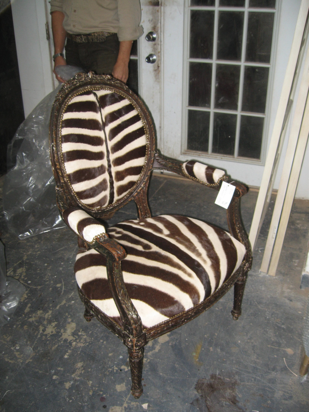 The Elusive Brown Zebra found a Home.