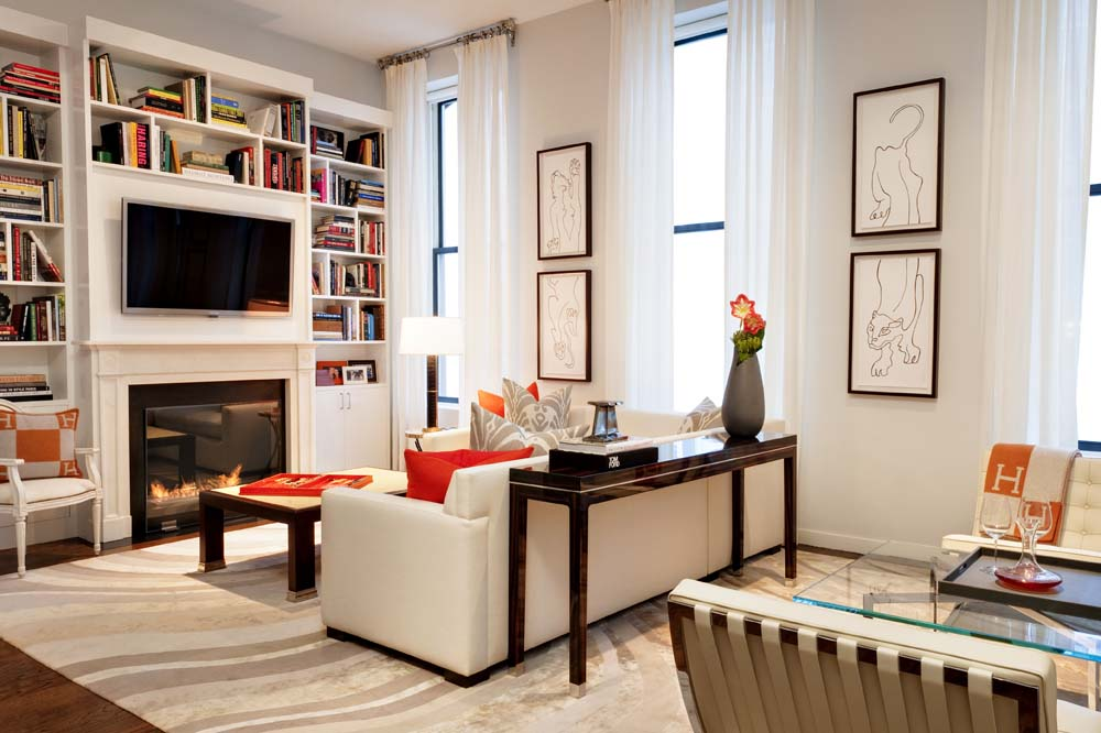 Tribeca loft photoshoot selects elizabeth bolognino interiors - Deco loft new yorkais ...