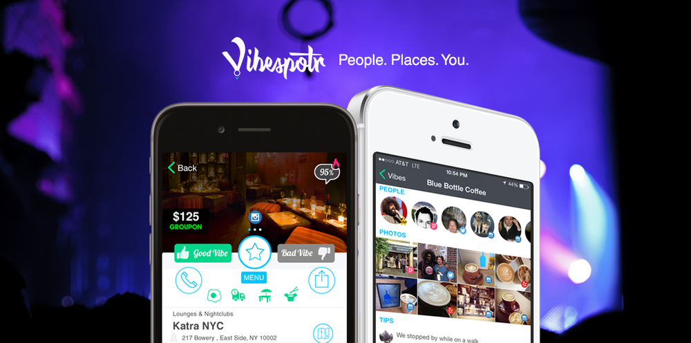 Vibespotr People. Places. You.