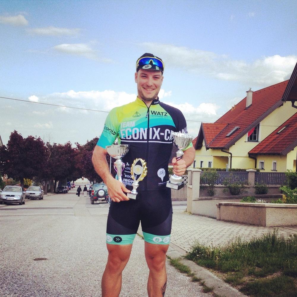 Neusiedler See Radmarathon    Pogi beszámolója a Fertő-tavi versenyről