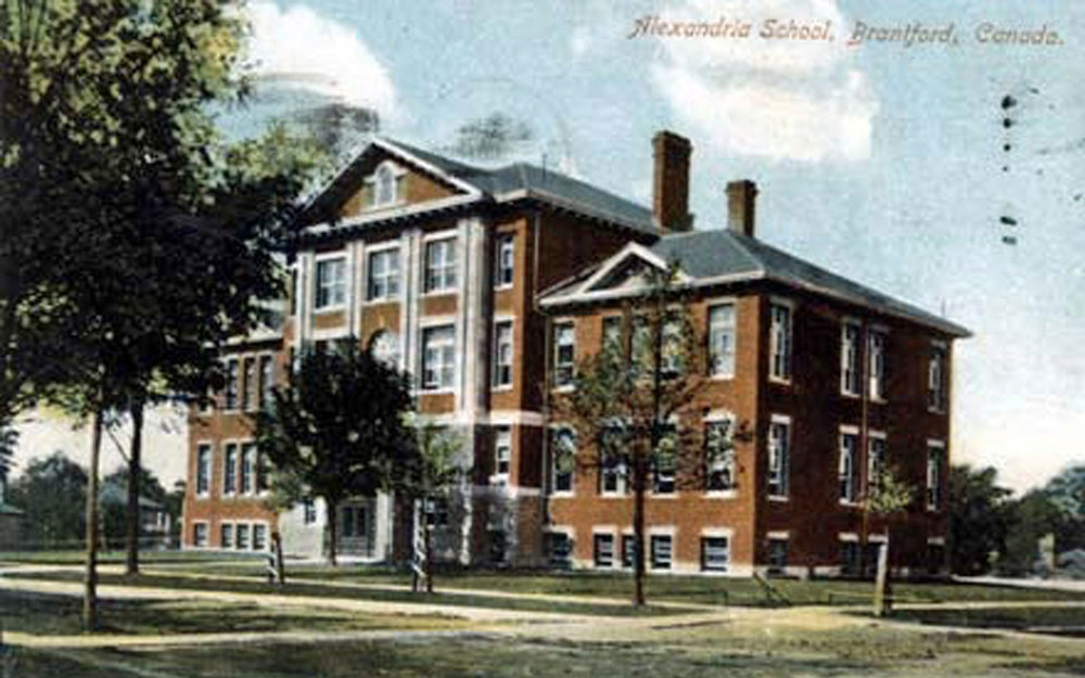 Alexandra School  Image courtesy of the Brant Historical Society