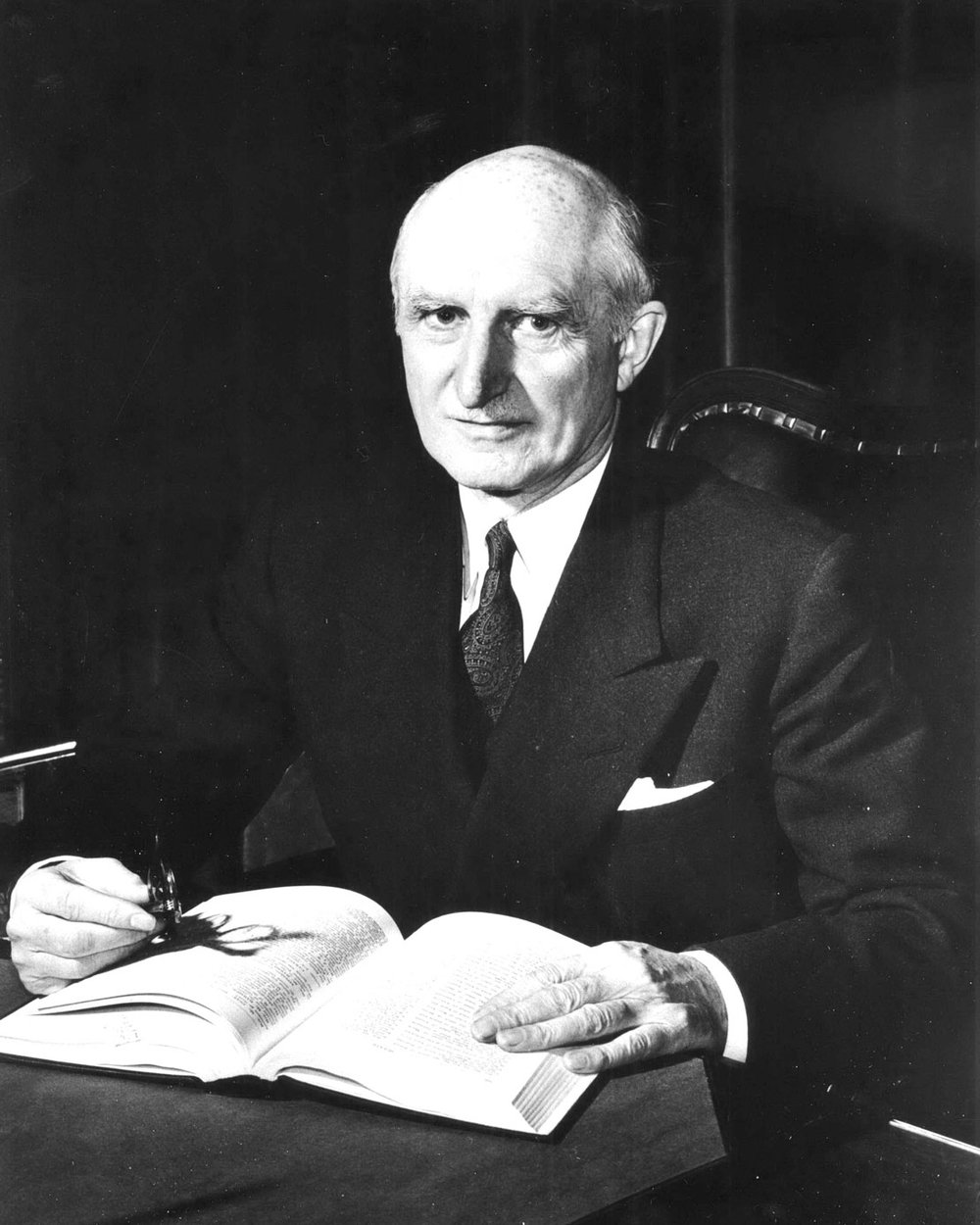W Ross Macdonald - Macdonald served in the House of Commons from 1935 to 1953. He served in the Senate from 1953 until 1967. He was Speaker of the House of Commons from 1949 to 1953. Macdonald was leader of the government in the Senate from 1953 to 1957 and 1963 to 1964. He was leader of the opposition in the Senate from 1957 until 1963. Macdonald served as Ontario's 21st Lieutenant Governor from 1968 to 1974.  Image courtesy of the Brant Historical Society