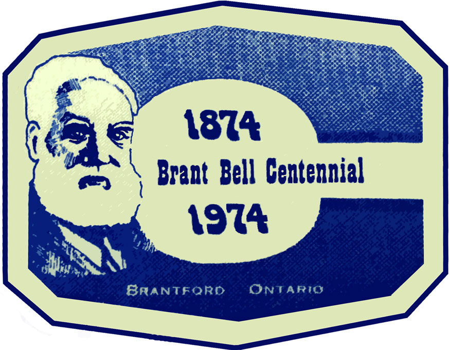 Brant Bell Centennial Logo.  Image courtesy of the Brant Historical Society