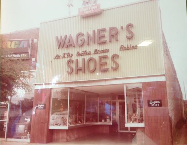 The storefront of our first store in downtown Tuscaloosa, AL in 1953.
