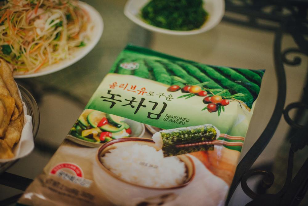 Our favorite brand of seasoned seaweed - so good!