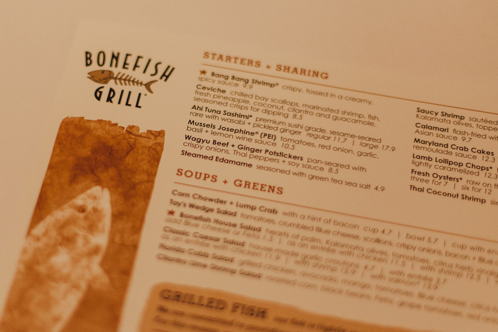 This Jenn Girl - Bonefish Grill South Tampa - 1
