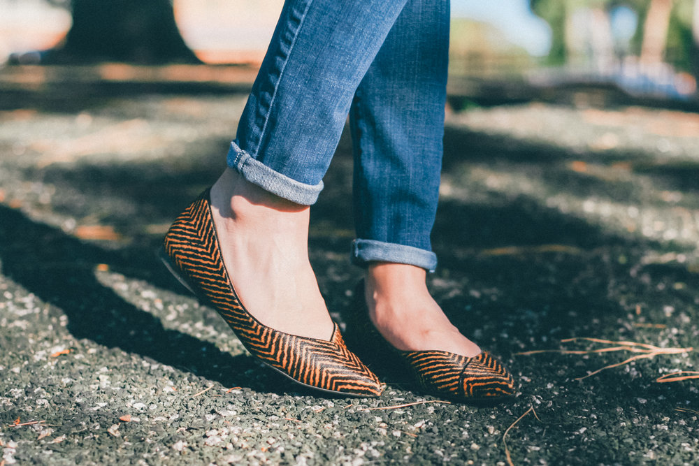 This Jenn Girl - Herringbone Flats