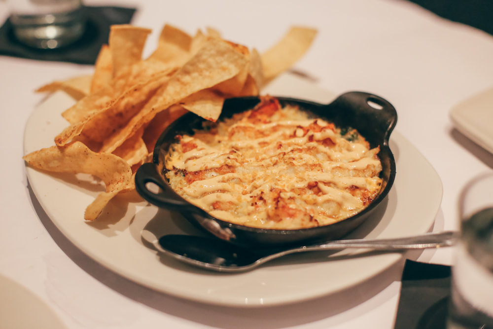 Lobster, Crab & Artichoke Dip