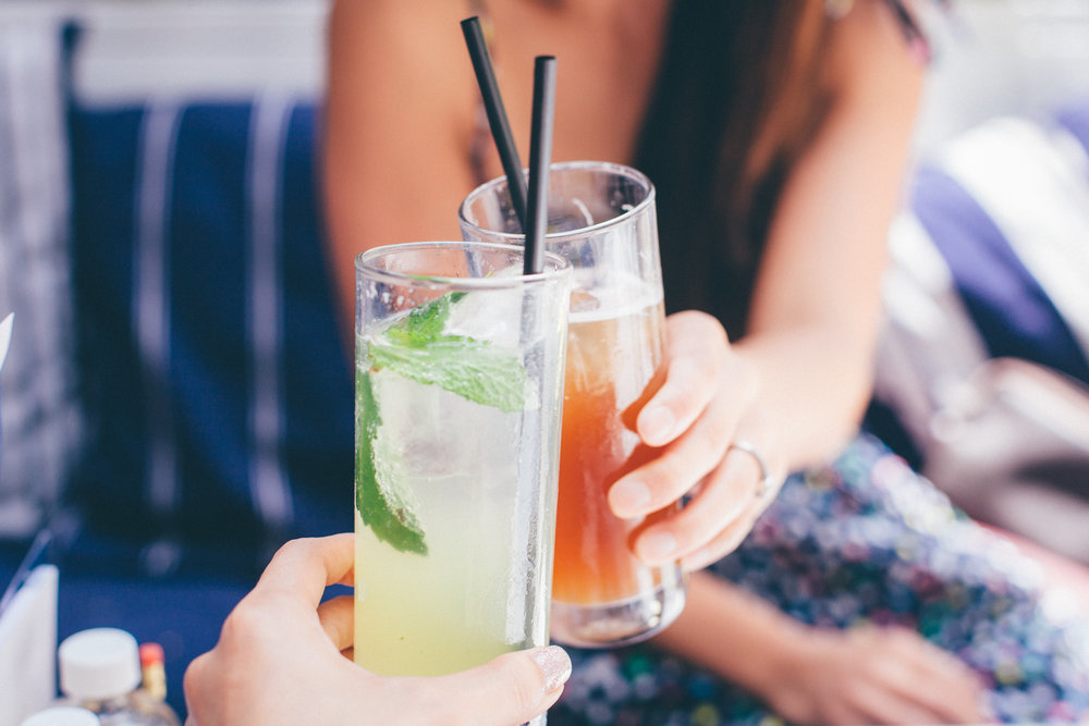 Lemonade with Fresh Mint | Mint Ginger Iced Tea