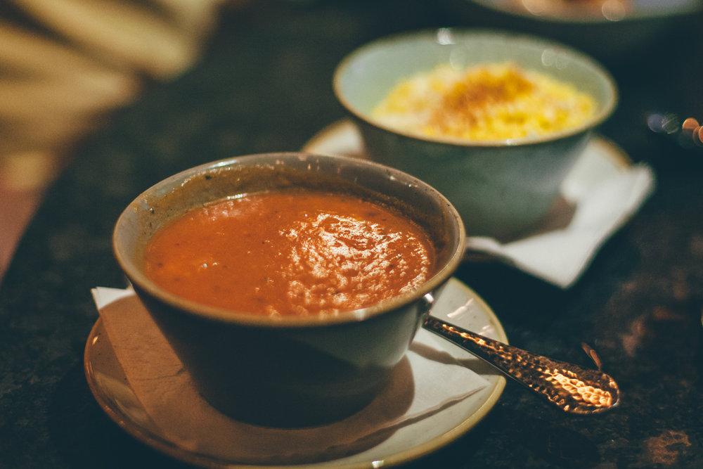 Sopa del Dia: Chicken Tortilla Soup | Off-the-Cob Mexican Street Corn